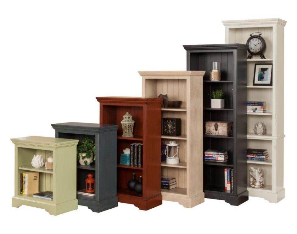 Barcelona Bookshelfs by North American Wood