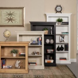 San Jose Bookcase in Lifestyle Setting