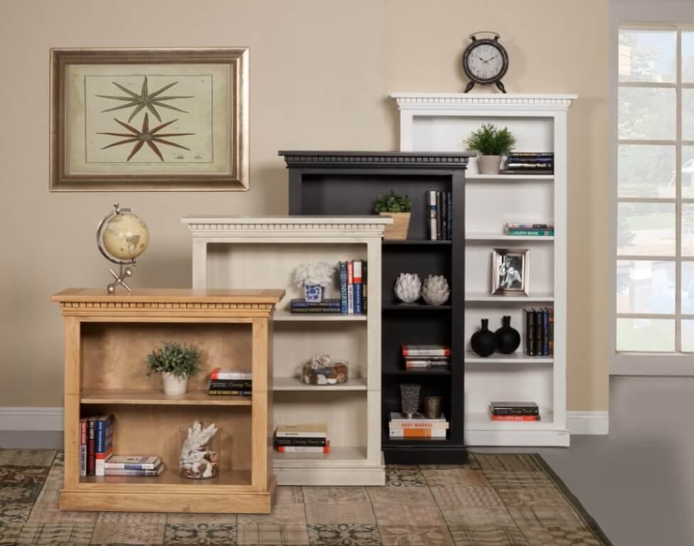 San Jose Bookcase in Lifestyle Setting