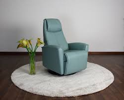 Urban Leather Recliner in Lifestyle