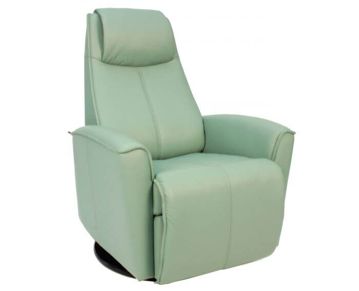 Urban Recliner Sea Green Leather by Fjord