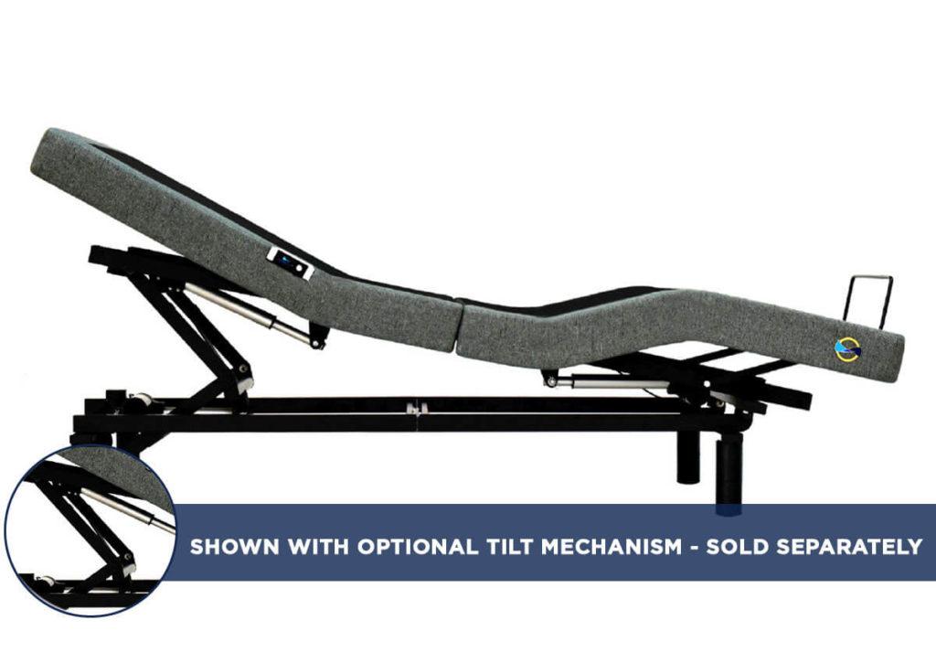 Accord Adjustable Base with Tilt Mechanism