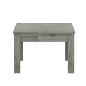 Acacia Phillipe Ash Grey End Table