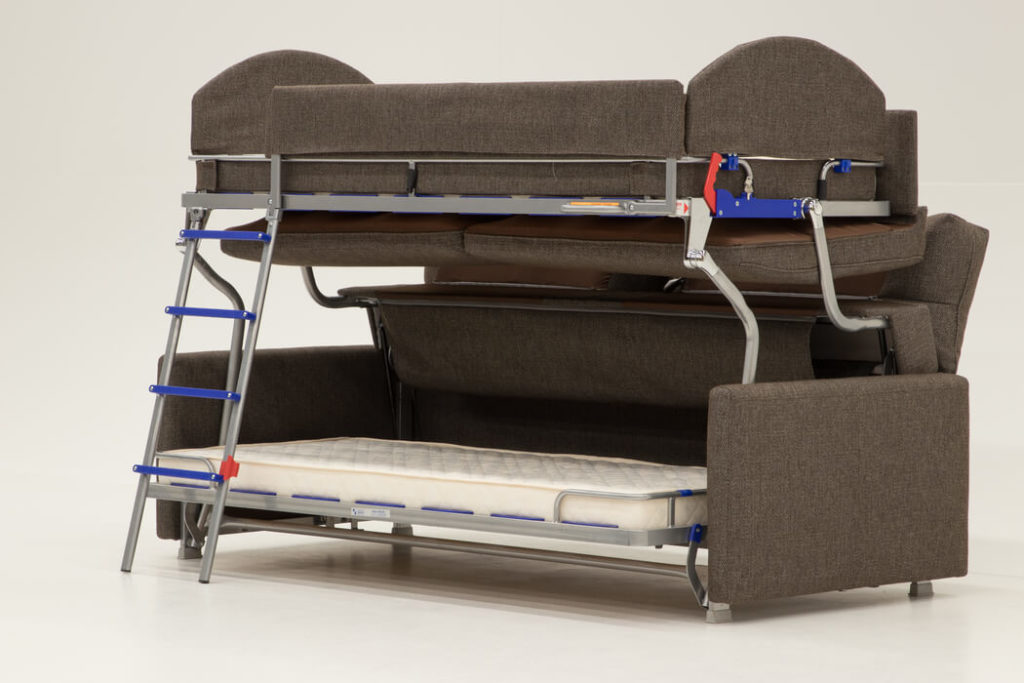 Elevate Bunk Bed Sleeper Sofa by Luonto