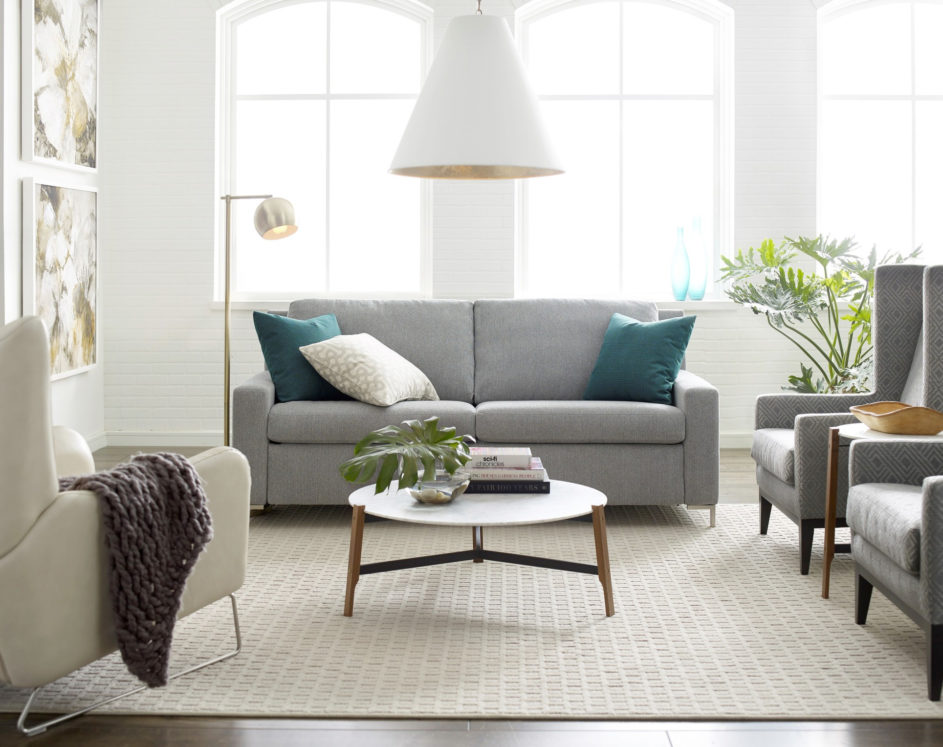 Bryson Large Sleeper Sofa Lifestyle