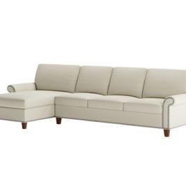 Gibbs Space Saving Sleeper Sofa with Nailhead Trim