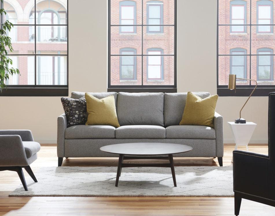 Harris Elegant Sleeper Sofa Lifestyle