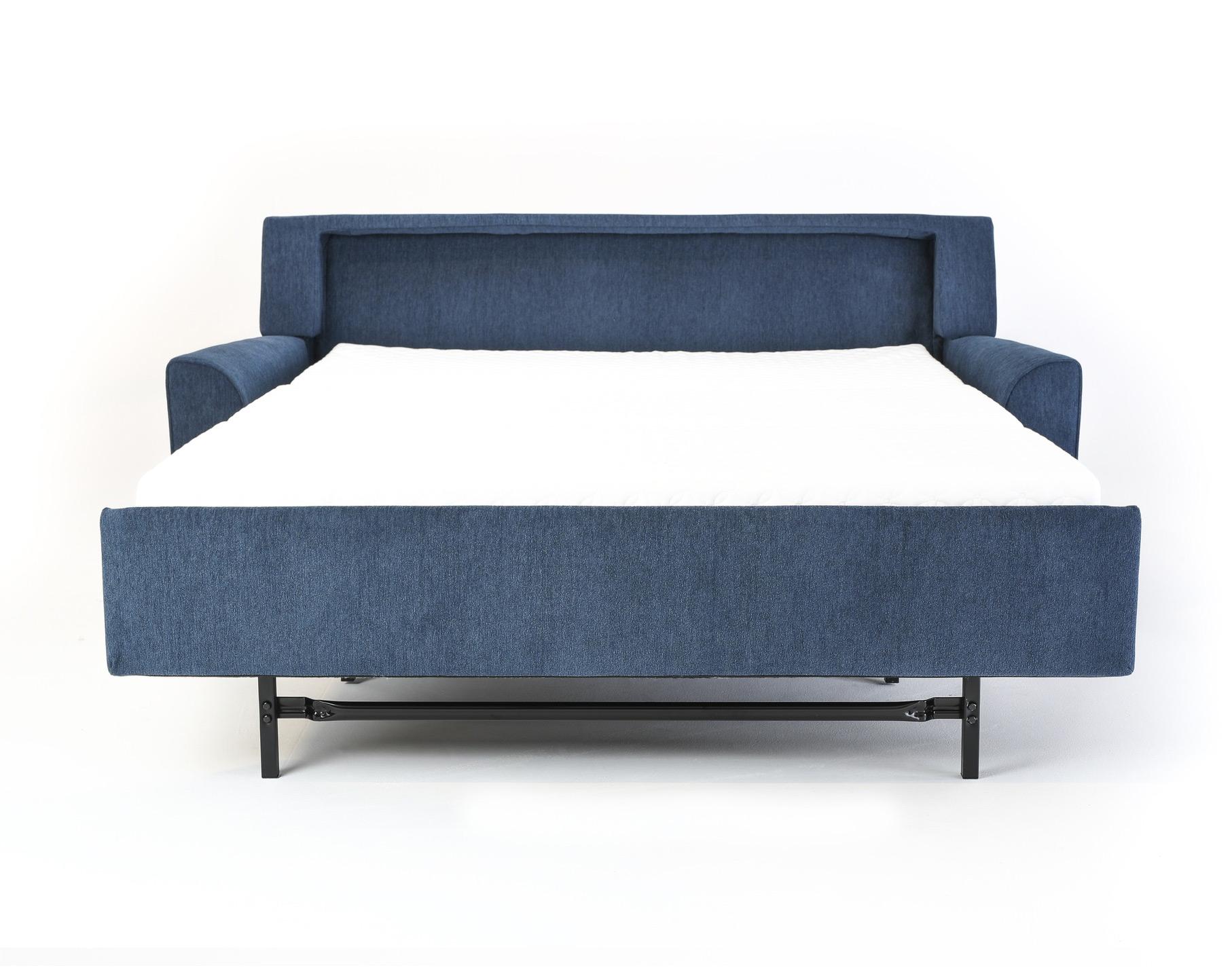Klein Modern Sleeper Sofa Open