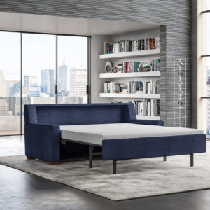 Lyons Modern Sleeper Sofa Lifestyle Open