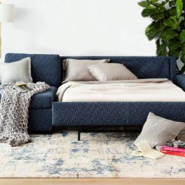 Olson Plush Sleeper Sofa Lifestyle