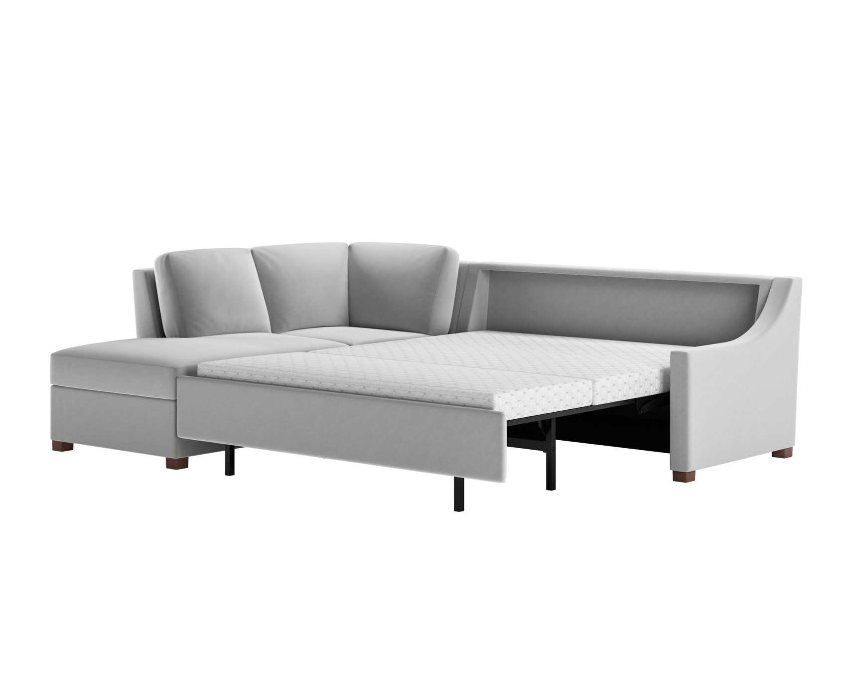 Perry Stylish Sleeper Sectional