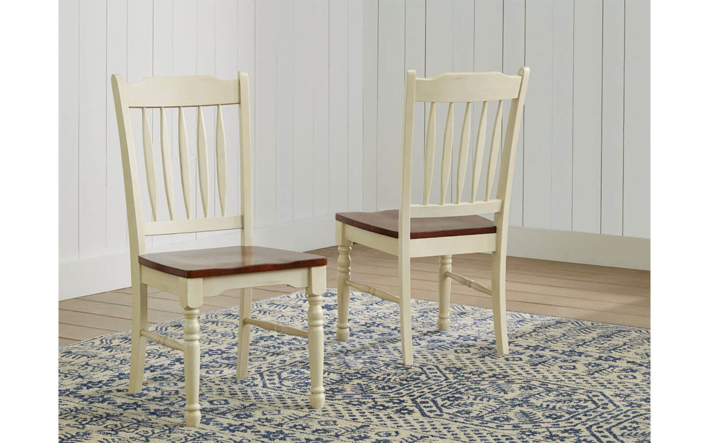 AAmerica British Isles Slatback Chair Chalk White