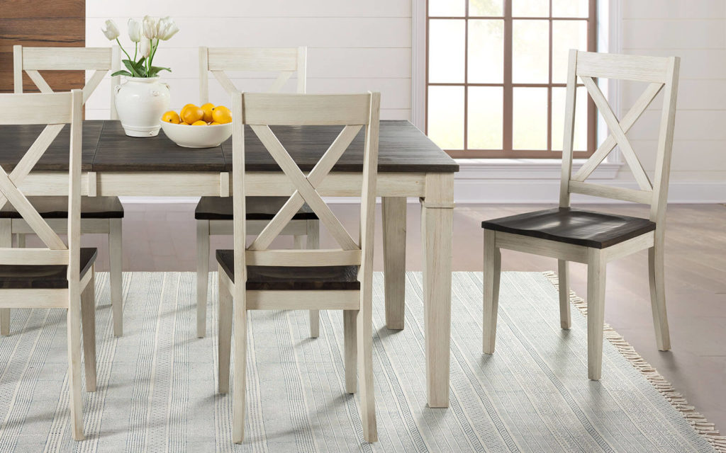 AAmerica Huron X Back Chair Chalk White