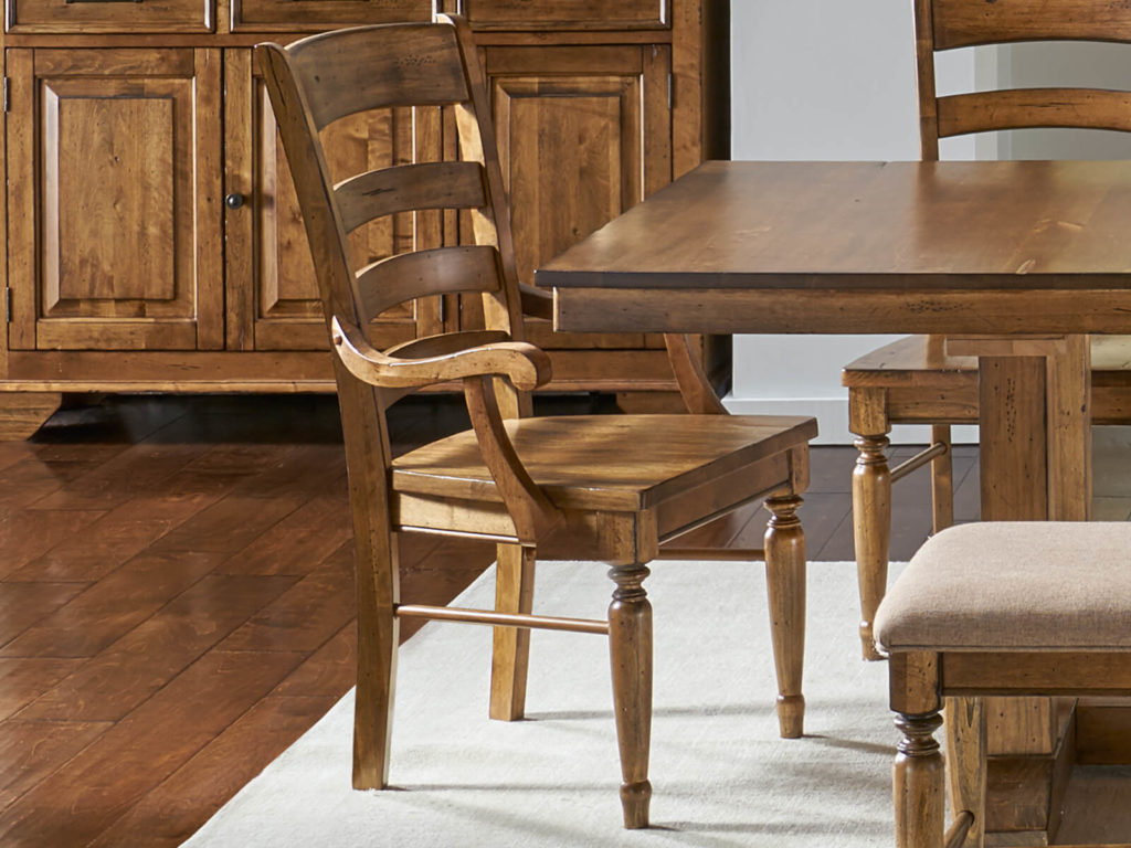 AAmerica Ladderback Arm Chair