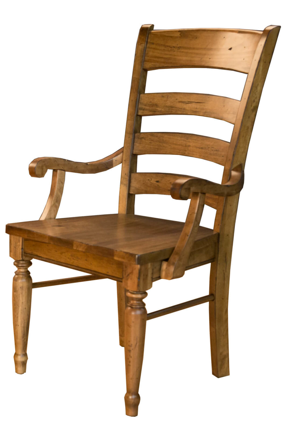 AAmerica Ladderback Arm Chair Front View