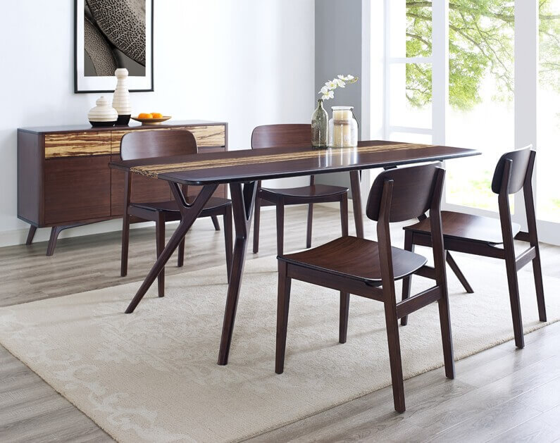 Greenington Azara Dining Table Sable