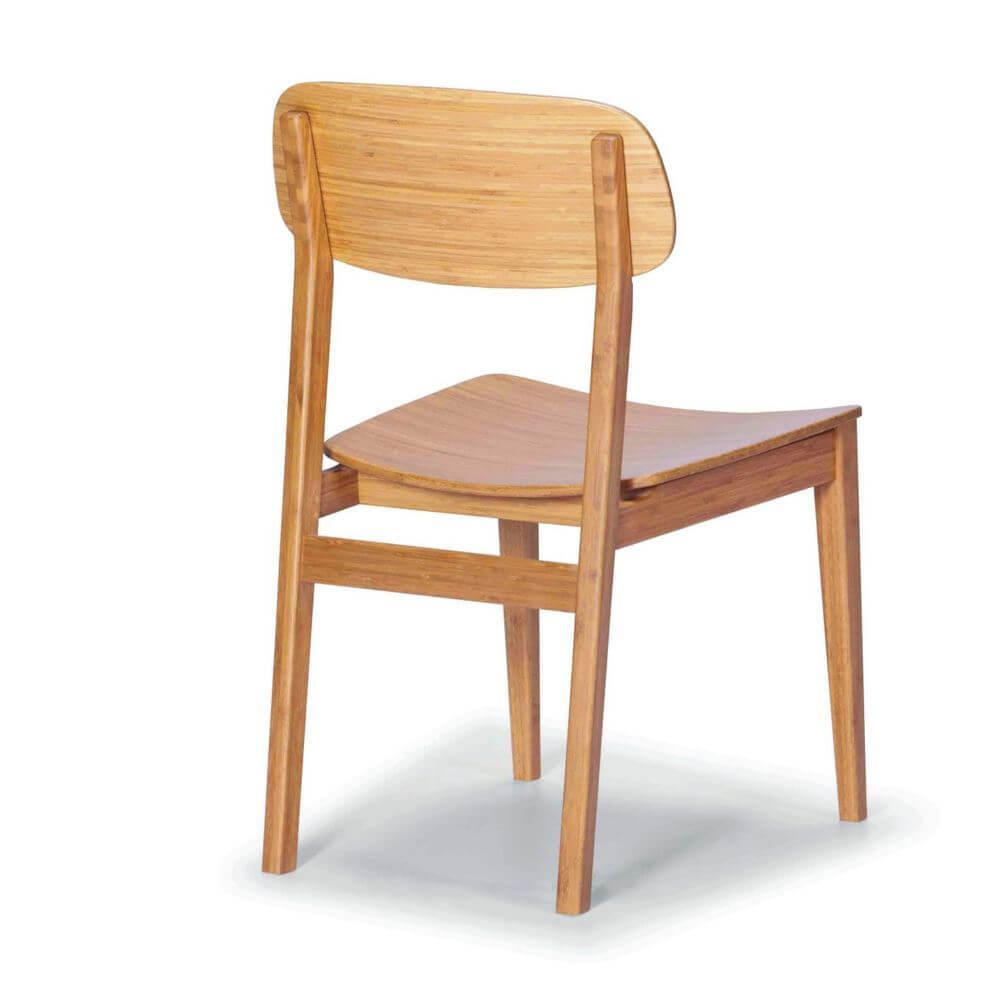 Greenington Currant Caramelized Dining Chair Rear View