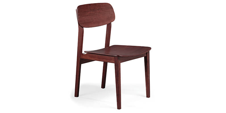 Greenington Currant Sable Dining Chair Side View