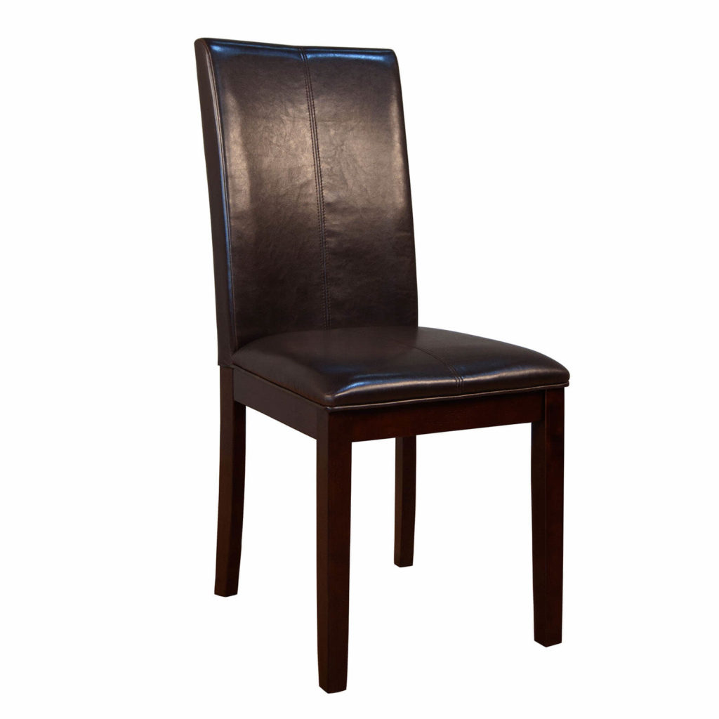 AAmerica BrownParsons Curved Back Chair