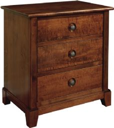 Chesapeaka 3 Drawer Nightstand
