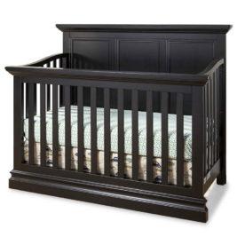 Pine Ridge Crib in Black Finish