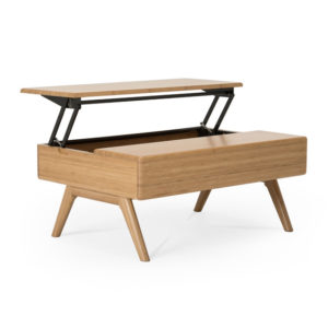 Rhody Lift Top Table Caramelized