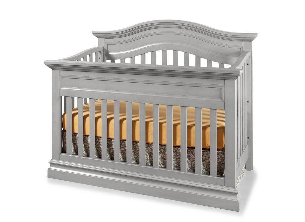 Stone Harbor Crib in Cloud Finish