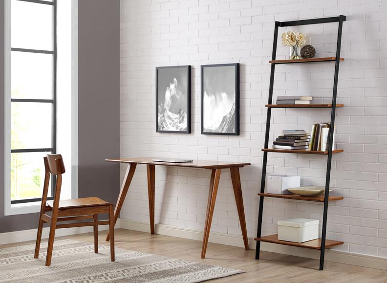 Studio Line Leaning Shelf Lifestyle View