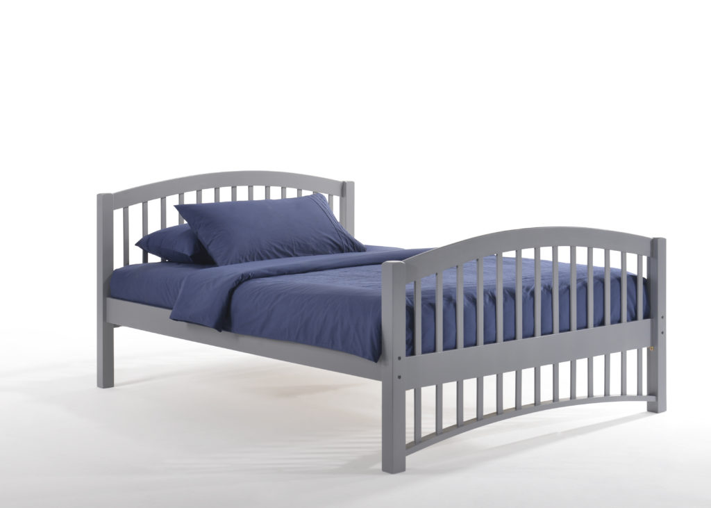 Full Zest Molasses Bed in Gray