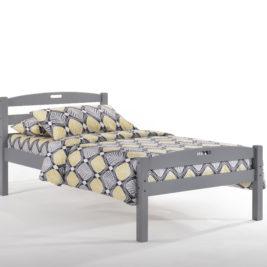 Twin Zest Sesame Bed in GrayTwin Zest Sesame Bed in Gray