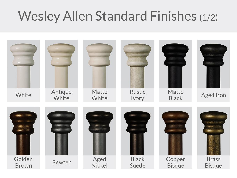 Wesley Allen Standard Finishes (1/2)