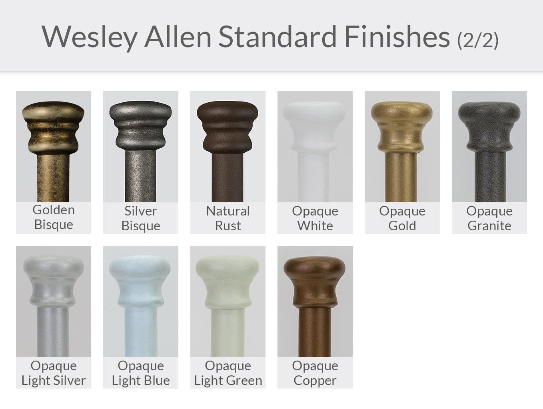 Wesley Allen Standard Finishes (2/2)