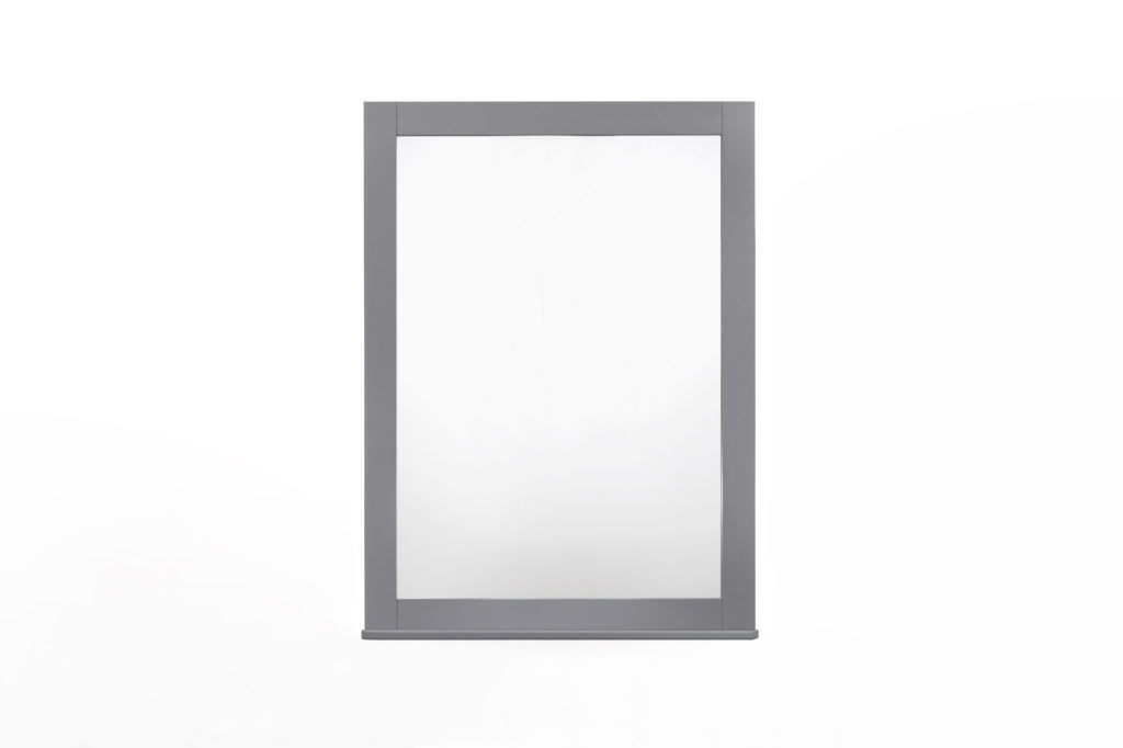 Zest Mirror in Grey