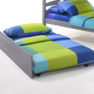 Zest Trundle Bed in Grey