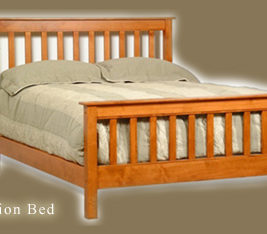 Mission Bed AMerican Woodcraft