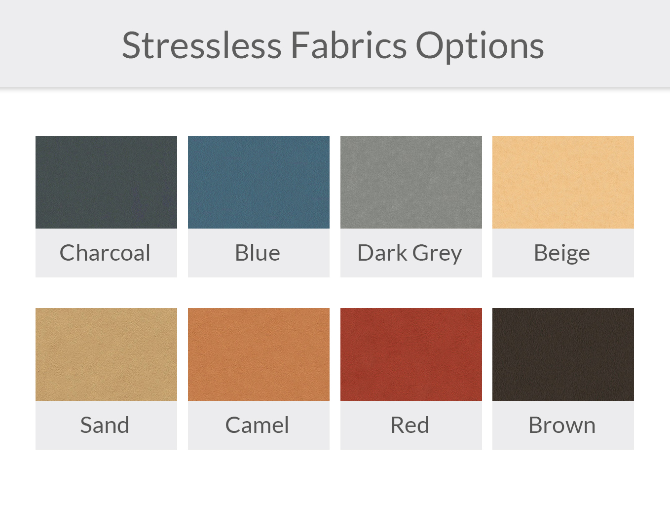 Stressless Dinamica Fabric Options