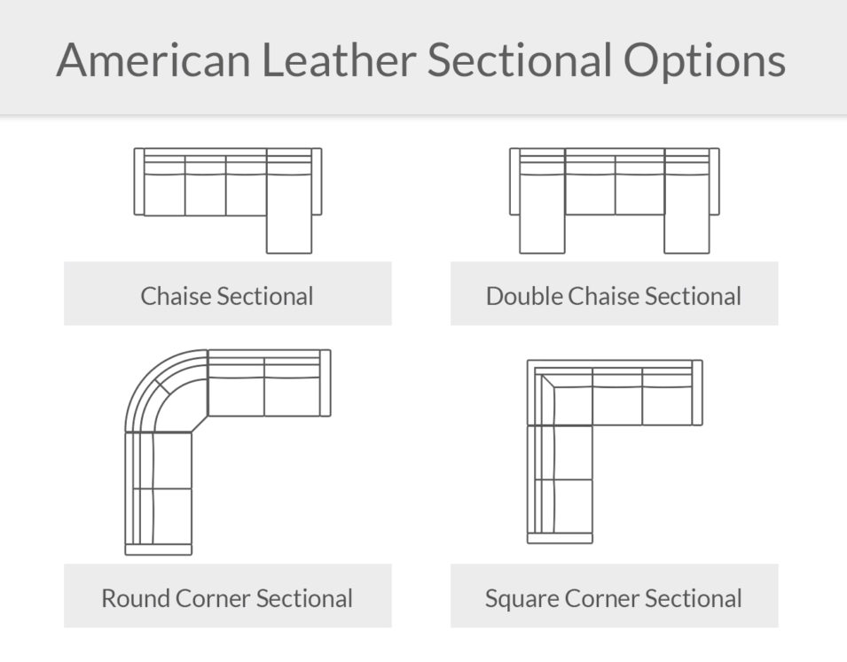 American Leather Sectional More Options