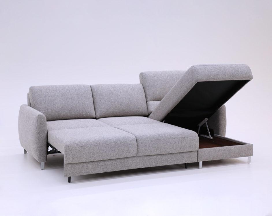 Delta Sectional Sleeper Sofa Storage