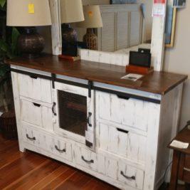 Pueblo White Dresser