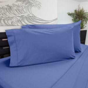 DreamChill Enhanced Bamboo Pillow Case Blue