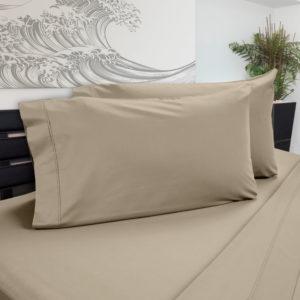 DreamChill Enhanced Bamboo Pillow Case Sand