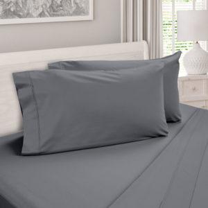DreamCool 100% Egyptian Cotton Pillow Case Gray