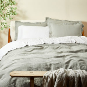 Coyuchi Relaxed Linen Duvet Cover