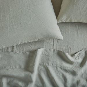 Coyuchi Relaxed Linen Sham - Laurel
