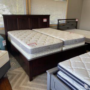 Archbold Heritage Storage Bed King Cherry 3