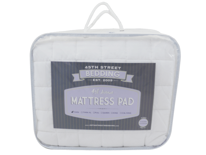 4th Avenue Mattress Pad In Package