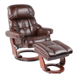 Benchmaster Sorrento Leather Reclining Chair Cognac
