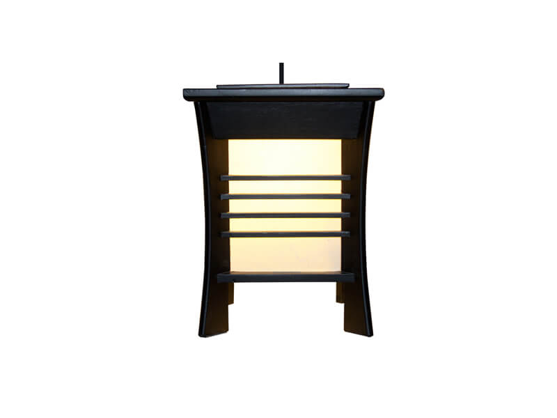 Yan's Akida Hanging Lamp 4-Stripes Black Bedrooms and More Seattle