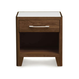 B&M Contour 1-Drawer Nightstand