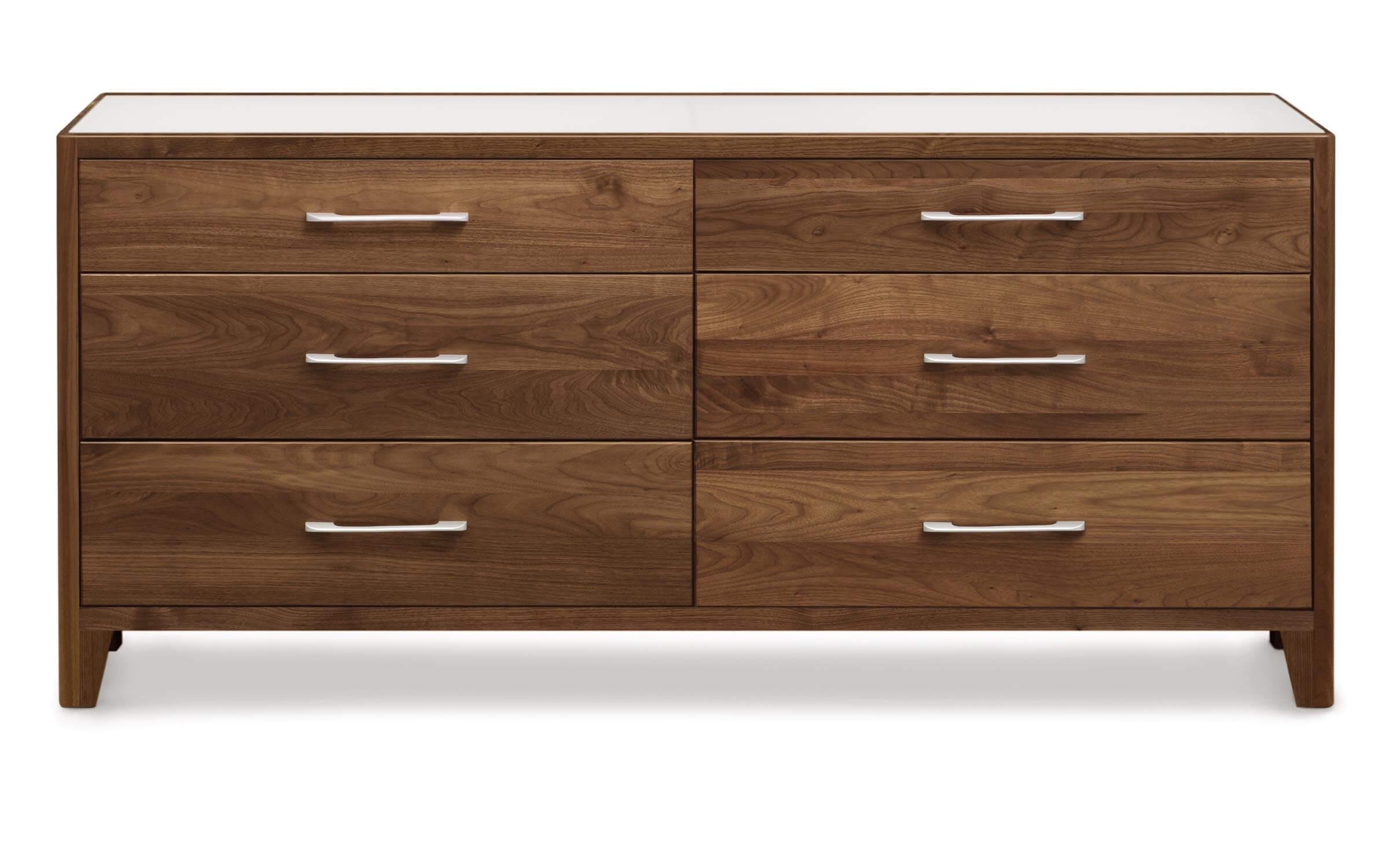 contour 6-drawer dresser by copeland furniture